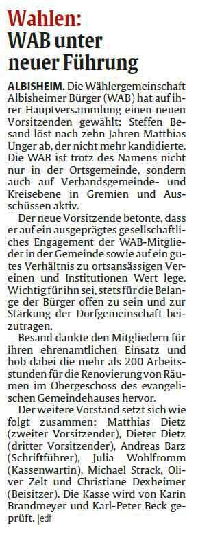 (c) Rheinpfalz. Donnersberger Rundschau vom 19.09.2020